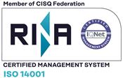 Comune certificato ISO 14001:2004