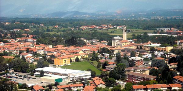 Panoramica di Carnago